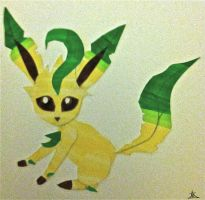 Leafeon by DemonRemorse