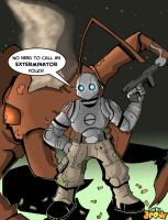 Atomic Robo Rendition by DatBoiDrew