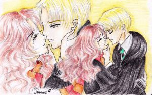 Dramione : I Die Without You by gheethegoth