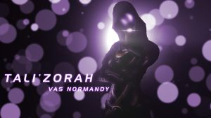 Tali'Zorah Wallpaper by EspionageDB7