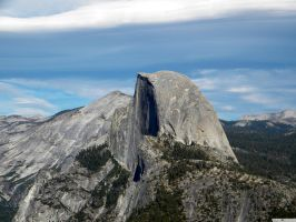 Sentinel Dome in Yosemite by Demon57