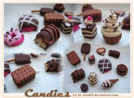 candies fimo by AnnKT