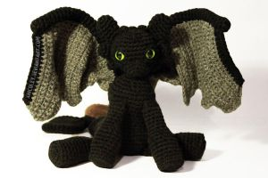 Toothless Plushie by xnicoley