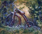 Rustic Tricycle by mbeckett