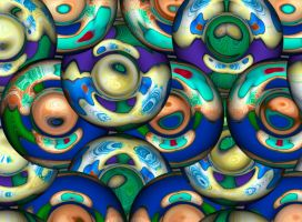 Fractal Doughnuts by kanes