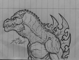 Good ol' Gojira by Jougeroth