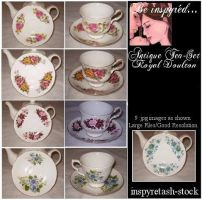 Antique Tea Set Pack by Bnspyrd