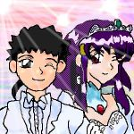 Tenchi and Ayeka- old pic by nieregreenleaf