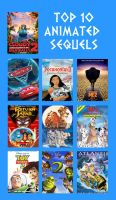 My Top 10 Favorite Animated Sequels by Toongirl18