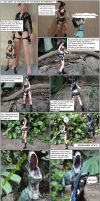 LARA CROFT: IN SEARCH OF THE SECRETS OF PAPERCRAFT by BRSpidey