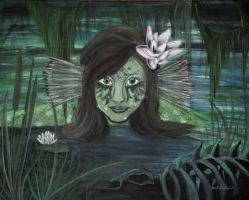 The Swamp Thing by mystic-fae