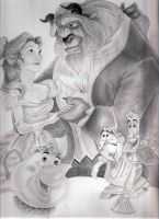 Beauty and the beast by Danilita
