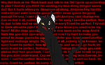 I'm sorry, I cant be perfect. by TheSpiritCatcher
