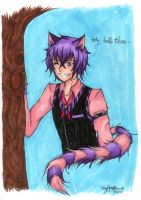 Cheshire Cat by TinyPaperStars