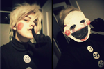 The Marionette / Puppet Guy cosplay test by Space-KIWI