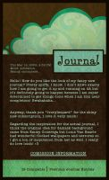 Journal Layout by tyleramato
