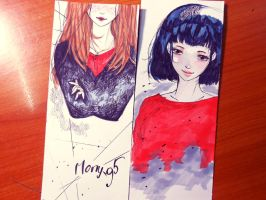 Bookmark by Mony-95