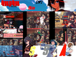 Kill la Kill Osu! Skin [ZIP] by Allen-WalkerDGrayMan