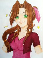 Aerith Final Fantasy VII Colo by sweetkatzii