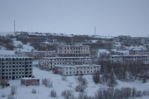 Abandoned City - Location Vorkuta Russia by OneMorePike
