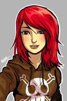 Red Hair by ChickenzPunk