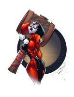 Harley Quinn by AlonsoEspinoza