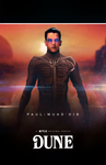 Paul-Muad'dib ''Dune'' character concept poster by NiteOwl94