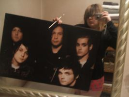 my chemical romance painting by Lauren109x