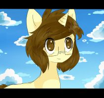 Pony O.C with new hair style by Chloebaloney