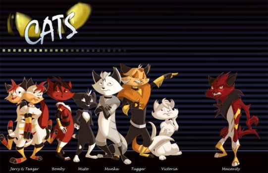 Animated CATS : Compilation by Ellis1342