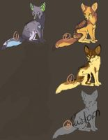 Fennec Fox Palette 1 {CLOSED} by Ticklebutt