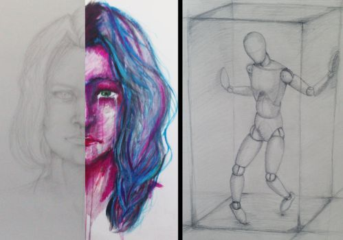 Sketches by Okaminu