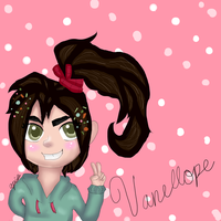 Vanellope by apinon
