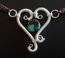 Heart and Soul Turquoise by melissamyth