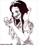 Snow white Zombie by Nikotesla