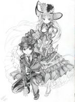 Gosick sketch by KidCurious