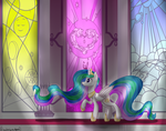 Lonely Throne Room by cloudsabovedawn