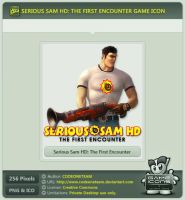 Serious Sam HD: The First Encounter Icon by CODEONETEAM
