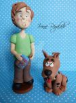 Scooby Doo And Shaggy by Oookamito