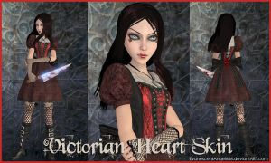 A:MR Skin - Victorian Heart by EvanescentAngel666