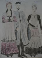Romeo and Juliet costumes II by Silmarilian