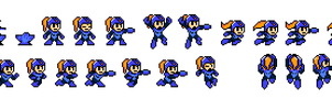 RokkoChan sprites ripped by OptimusConvoy