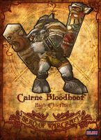 Cairne Bloodhoof by Hilson-O
