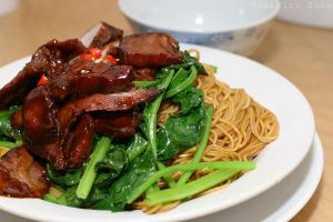 Char Siew noodles by patchow