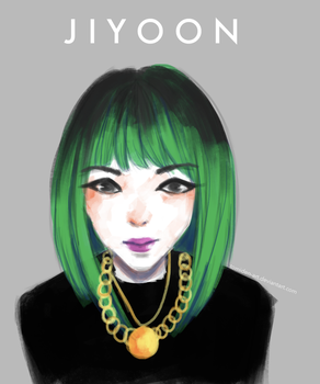 Jiyoon 4MINUTE by tomiden-art