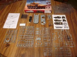 Trumpeter 1/35 Lav-25 Contents by enc86