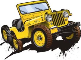 ol' jeep by Bmart333