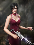 Ada Wong by DemonLeon3D