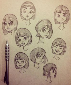 Facial Expression Exercises by chrissie-zullo