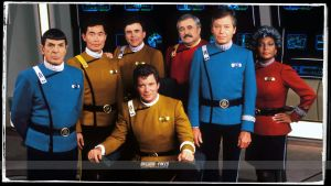 Star Trek Wrath of Khan colored Uniforms by gazomg